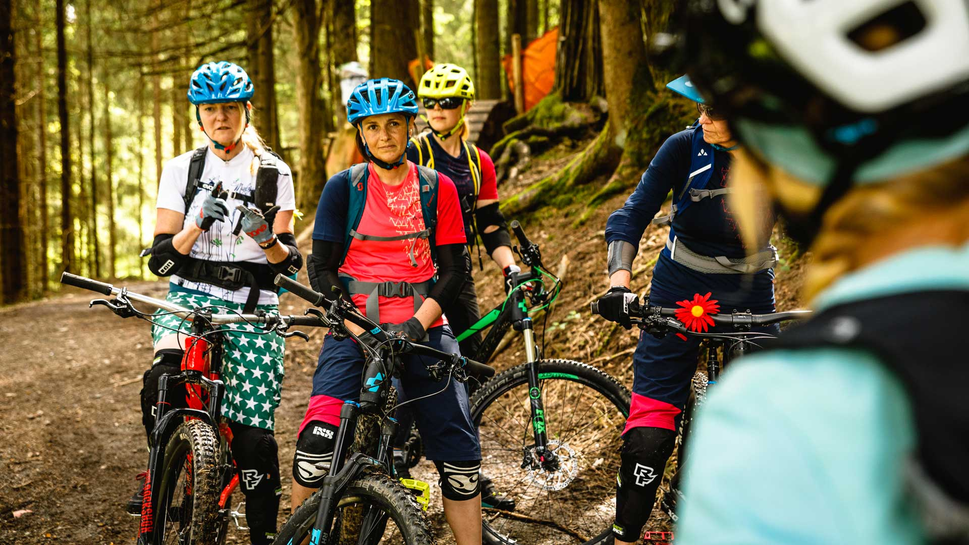 Divas Bike Camp in der Bikeacademy