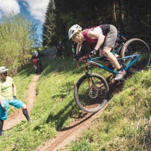 Mountainbike Fahrtechnik Training