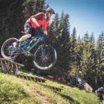 Fahrtechnik Training Mountainbike Übungsgelände Fleckalmtrail